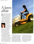 A lawn affair.