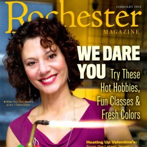 Rochester Magazine Cover February 2014