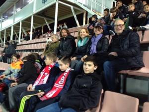 Granada futbol game – Kristine Bruneau