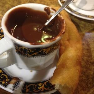 churro + chocolate