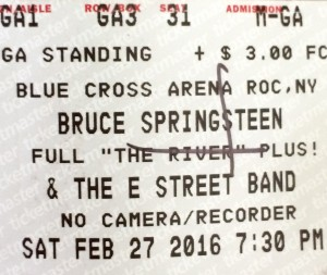 Bruce Springsteen ticket